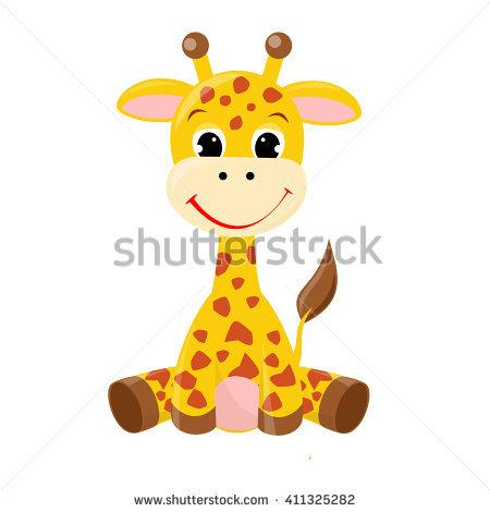 Baby Giraffe Stock Images, Royalty.