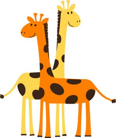 Image of Baby Giraffe Clipart #2072, Free To Use Giraffe Clip Art.