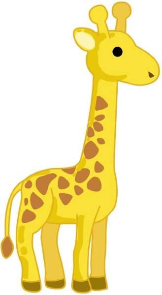 Clip Art Giraffe.