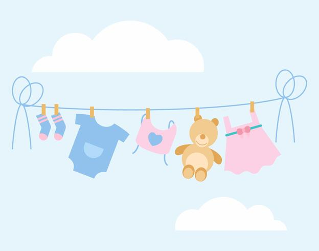 Iconic Babyshower Vectors.