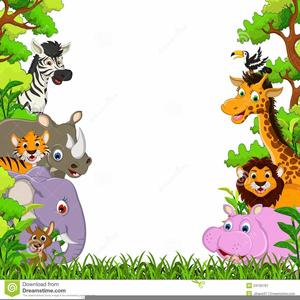 Free Baby Safari Clipart.