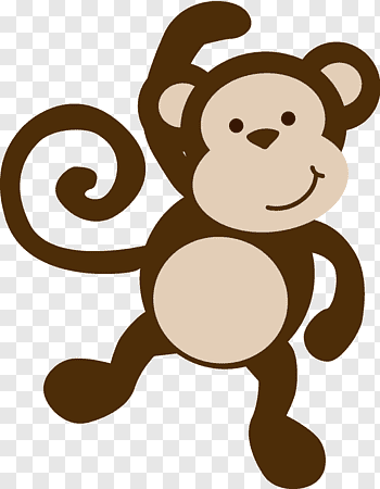 Spider Monkey cutout PNG & clipart images.
