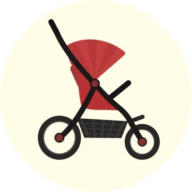 Best Baby Stroller Illustrations, Royalty.