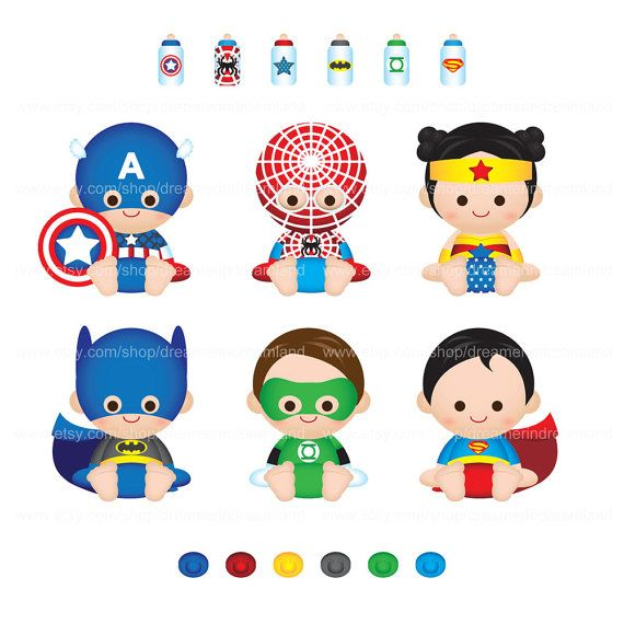 Free Baby Clipart superhero, Download Free Clip Art on Owips.com.