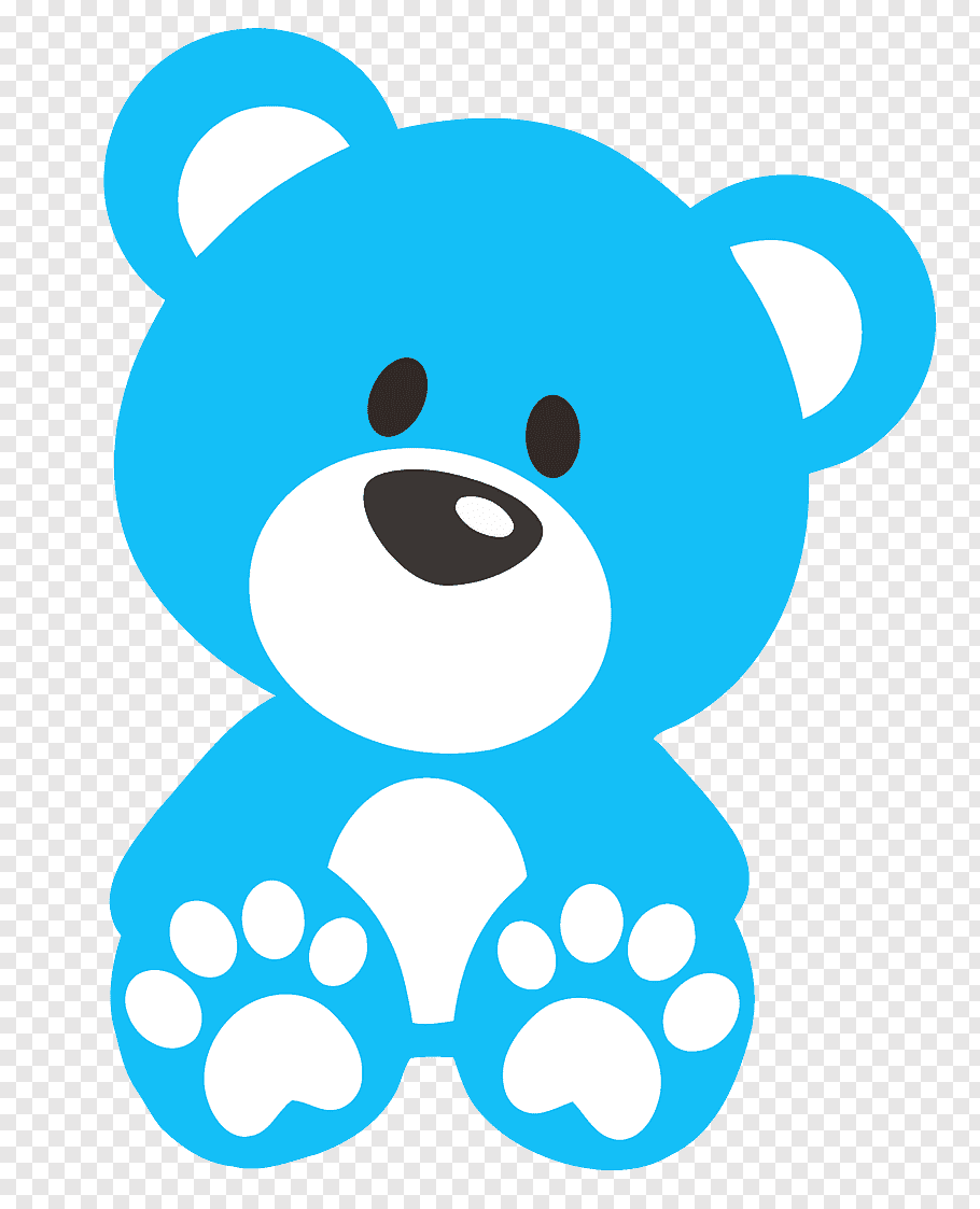 Blue and white bear, Teddy bear Baby blue, teddy bear free.