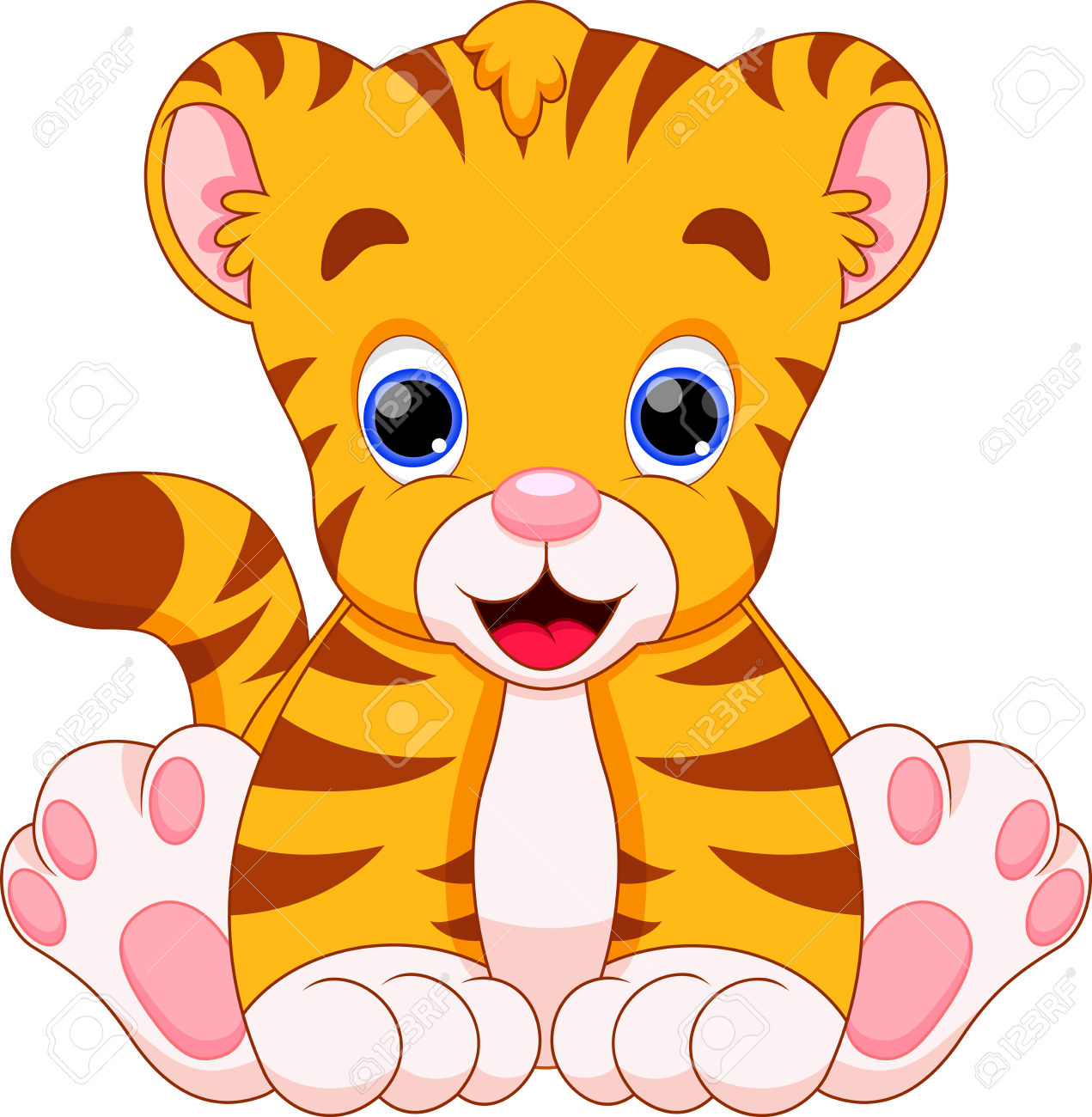 Tiger Clipart Cute 20 Free Cliparts