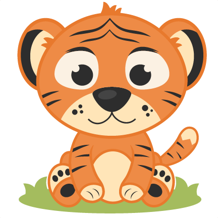 Best Baby Tiger Clipart #24500.