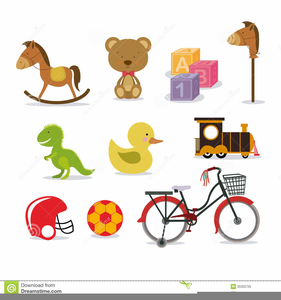 Baby Boy Toys Clipart.