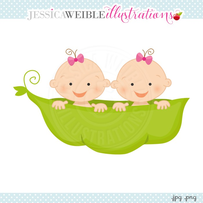 free baby twins clipart - Clipground