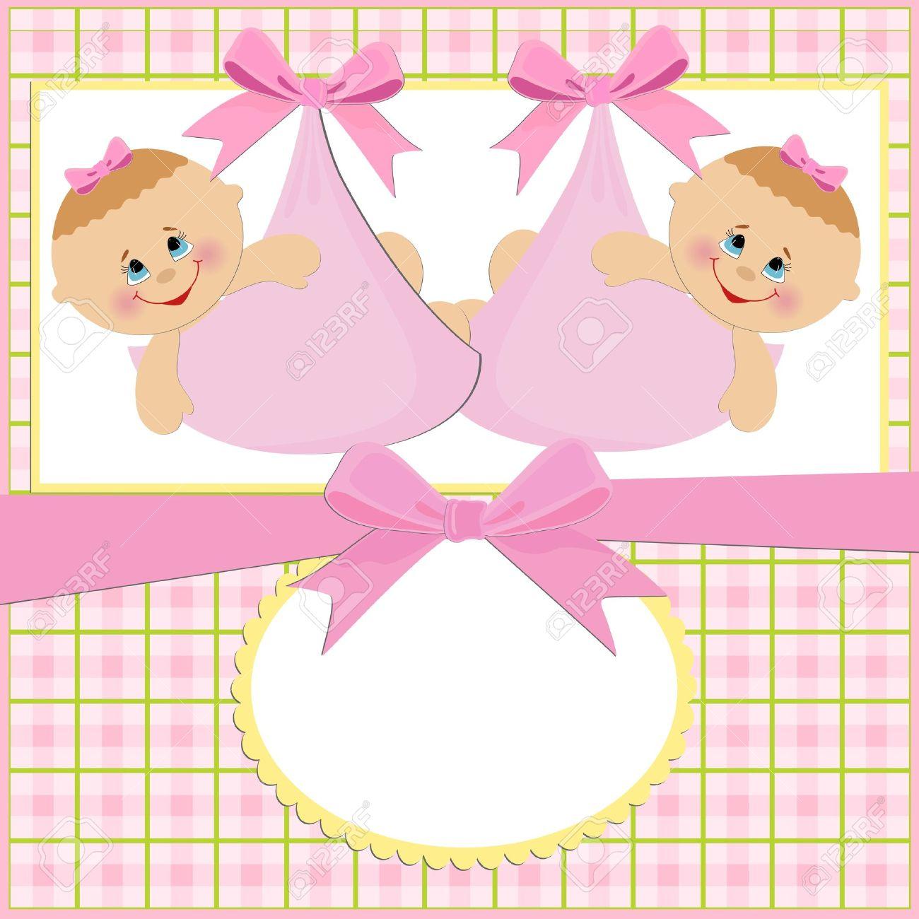 Поздравление родителям с рождением дочек-близняшек