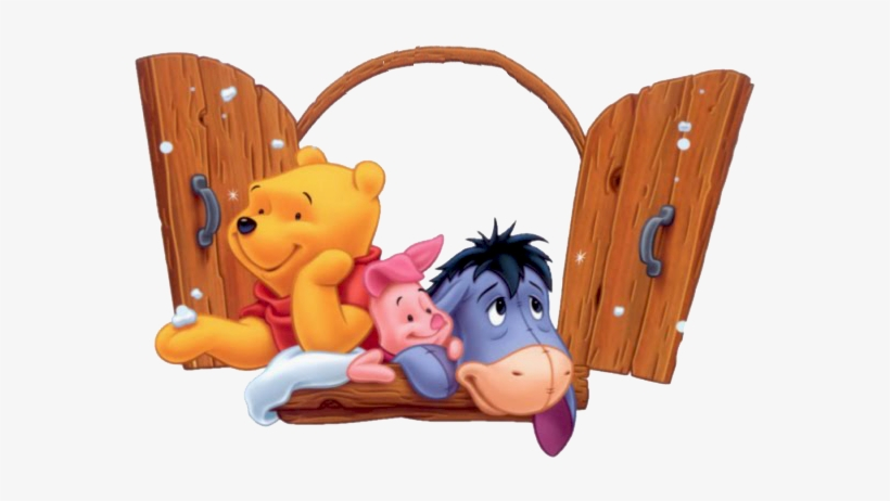 Winnie The Pooh Group Clipart.