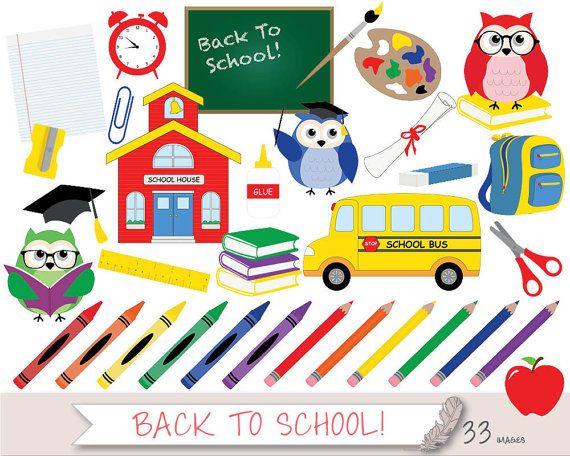 Back to school clipart clip art school clip art teacher clipart.