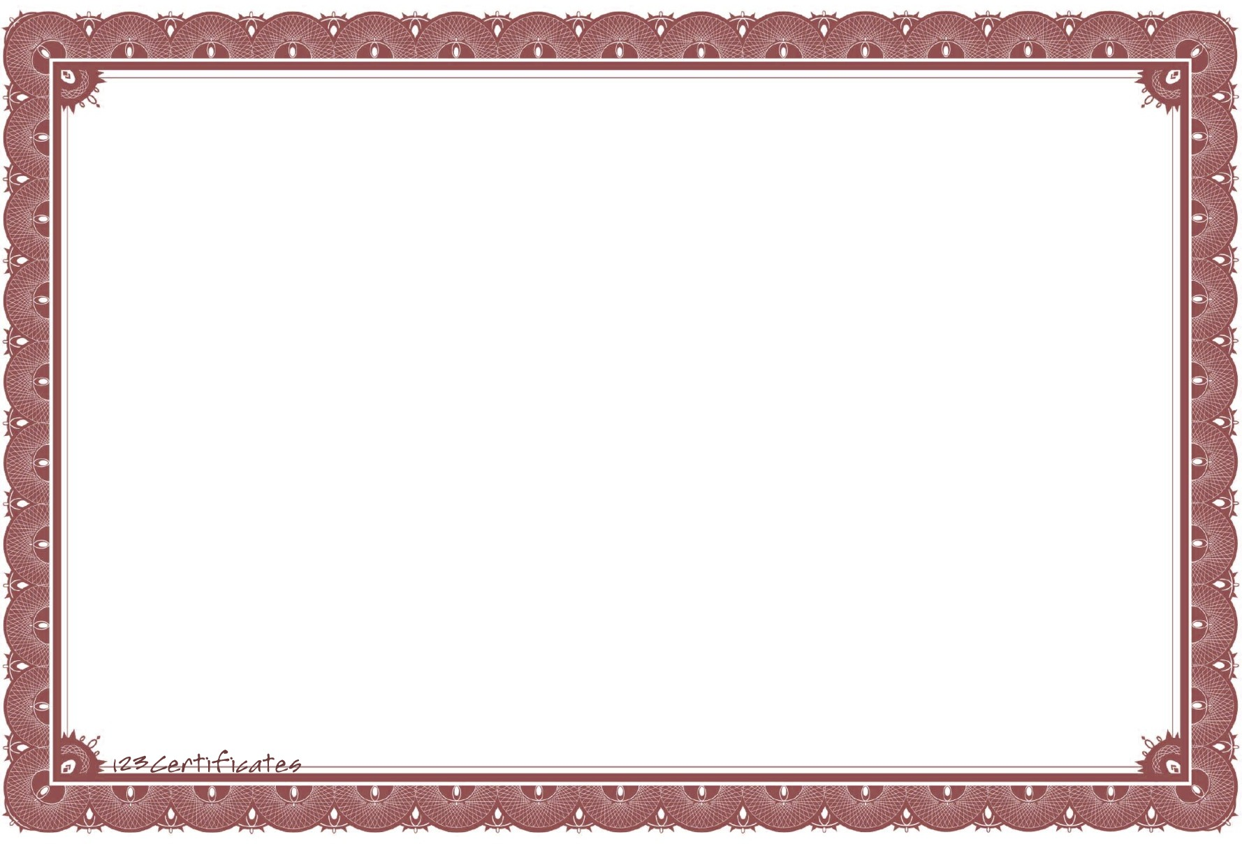 Free certificate borders to download, certificate templates for.