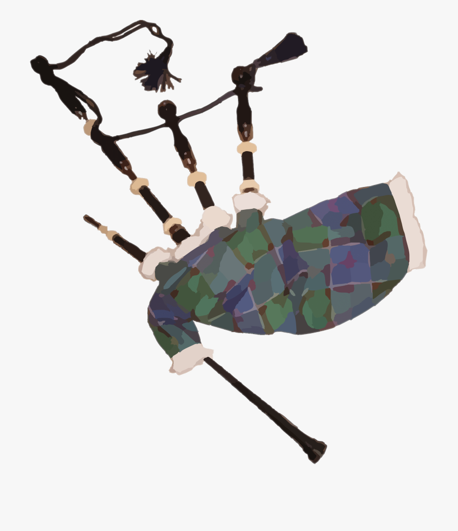 Bagpipes Clipart.