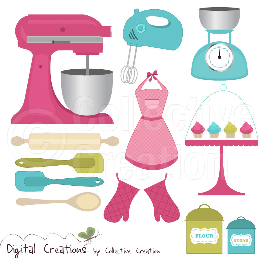 Free baking clipart 3 » Clipart Station.