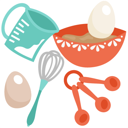 Baking Set SVG cutting file for scrapbooking cute cut files free.