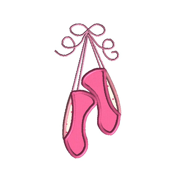 99 Ballet Slippers free clipart.
