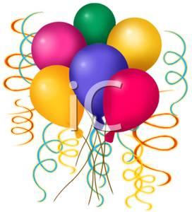 Free Birthday Balloon Clip Art.