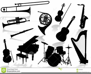 Clipart Band Instruments Free.