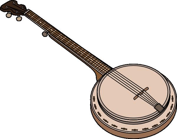 Banjo clip art (114223) Free SVG Download / 4 Vector.