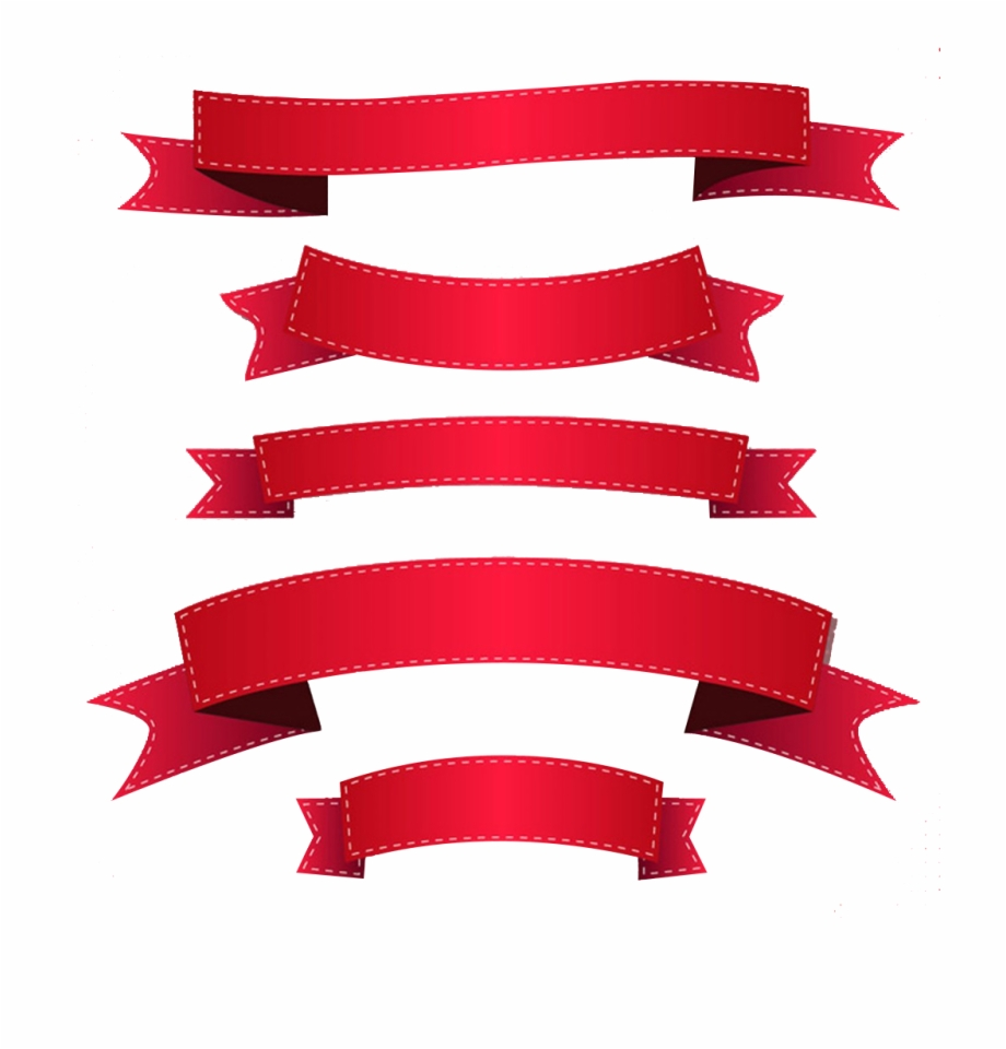 Ribbon Banner Clip Art.