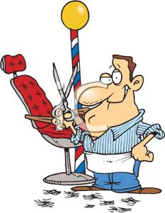 Free Barber Clipart.