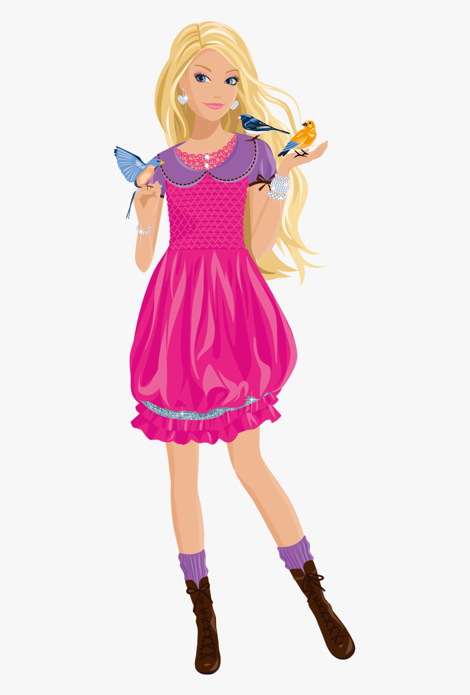 Barbie Clipart Format.
