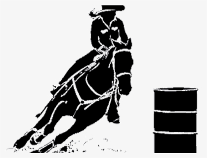 Free Barrel Racing Clip Art with No Background.