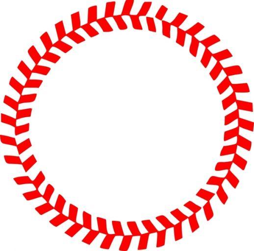 55+ Baseball Border Clipart.