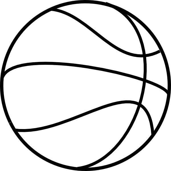 Library of basketball tickets black and white png png files.