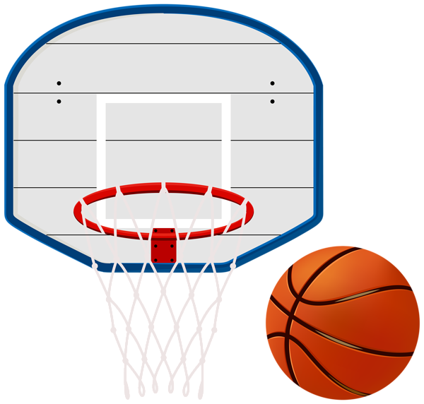 Library of basketball fishing net hoop banner royalty free.