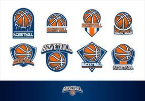 Basketball Logo Free Vector Art.