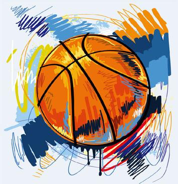 Vector clipart basketball graffiti free vector download (3,524 Free.