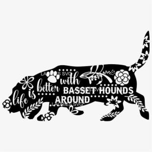 Basset Hound , Transparent Cartoon, Free Cliparts.