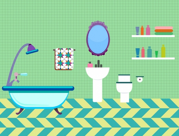Bathroom free vector download (66 Free vector) for commercial use.