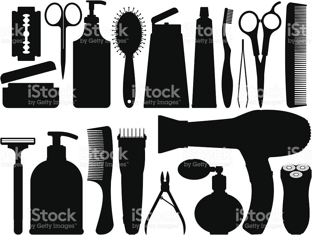 Bathroom Silhouettes stock vector art 164157515.
