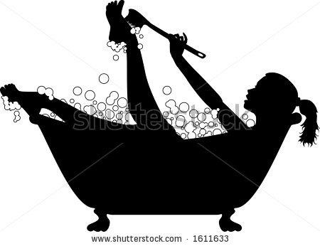 bathtub+clip+art.
