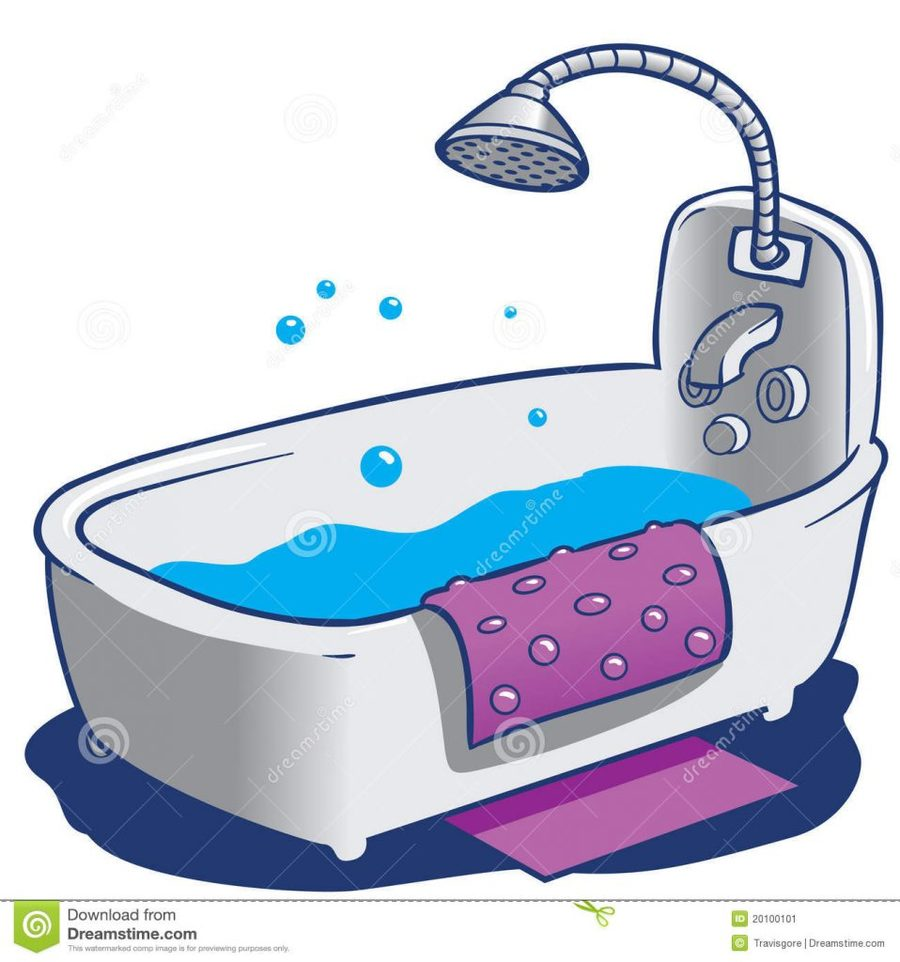 Download bathtub clipart Baths Bathroom Clip art.