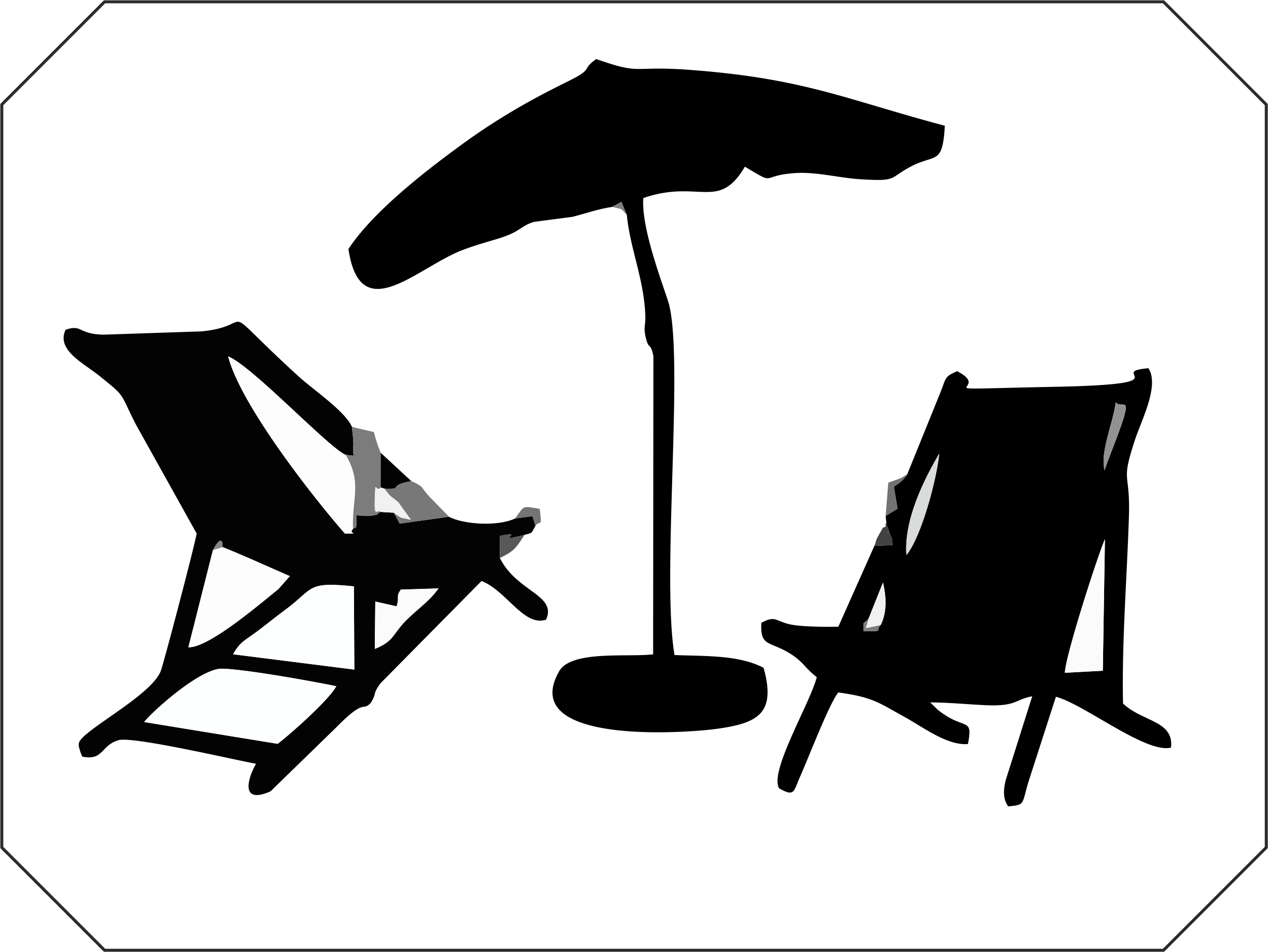 Deckchair Garden furniture Umbrella.