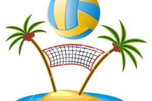 Free beach volleyball clipart » Clipart Portal.