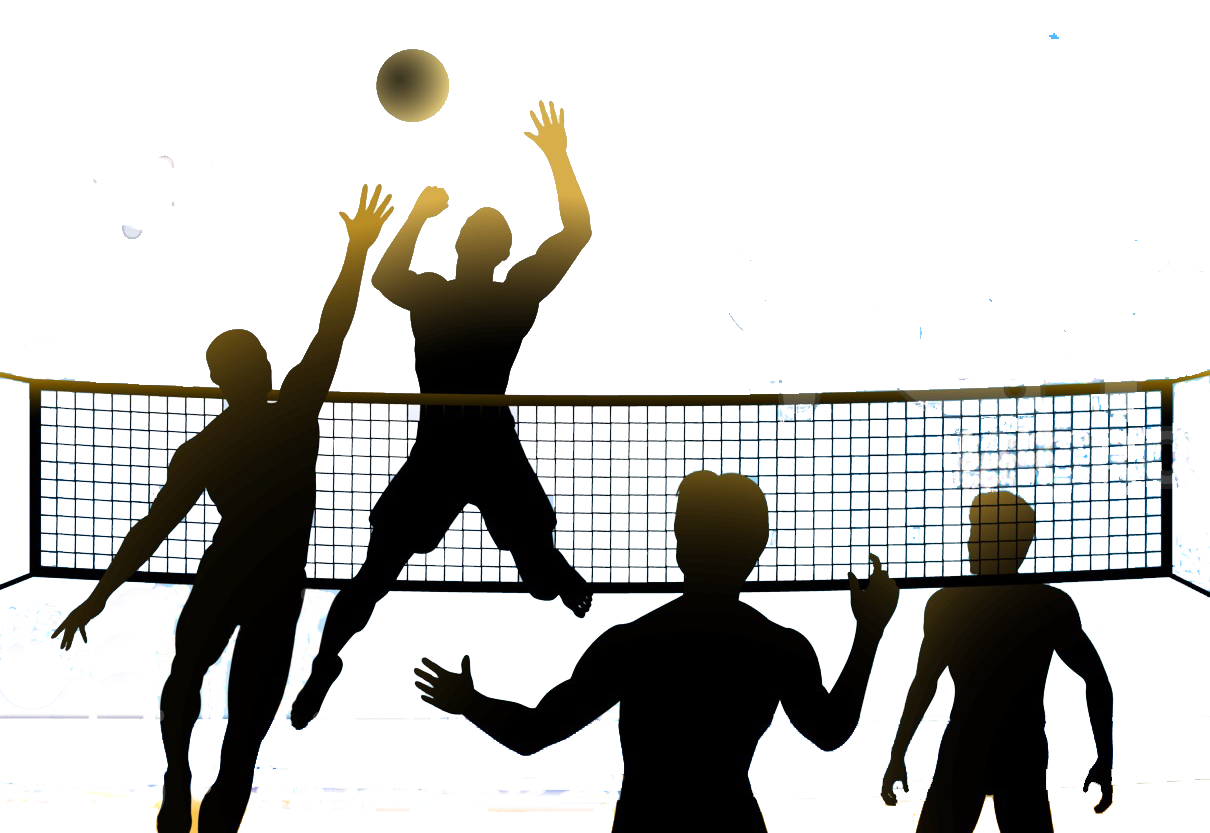 Beach volleyball clipart clipart images gallery for free download.