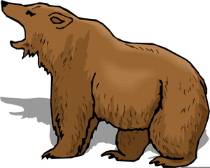 Free Cartoon Polar Bear Clipart.