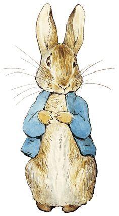 Free Peter Rabbit Clipart.