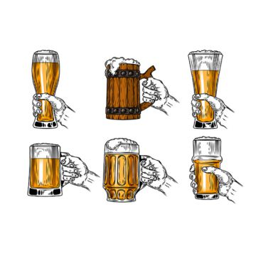 Beer Glass Png, Vector, PSD, and Clipart With Transparent Background.