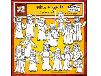 Free Bible Character Clip Art from Charlotte\'s Clips.