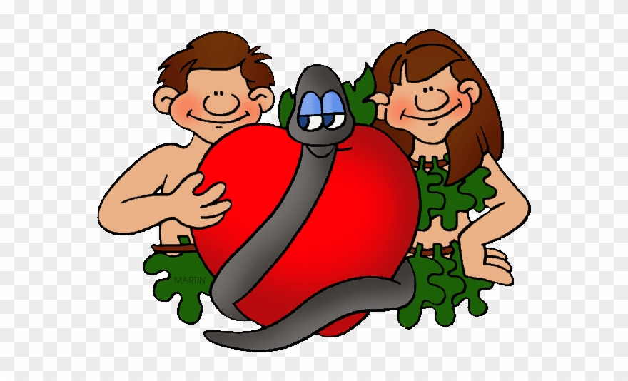 Free Bible Clip Art By Phillip Martin, Adam And Eve.