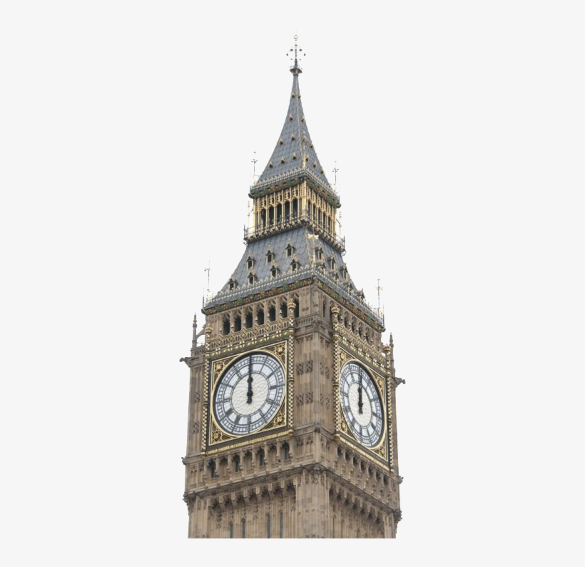London Clock Tower Png Clipart.