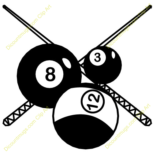 Billiards clipart free 2 » Clipart Portal.