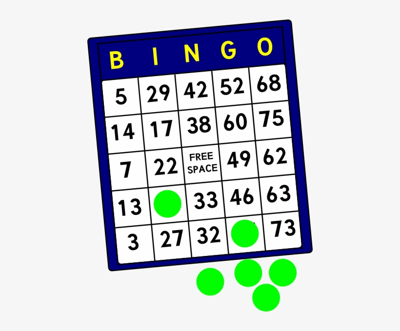 Bingo Card Png Vector Transparent Download.