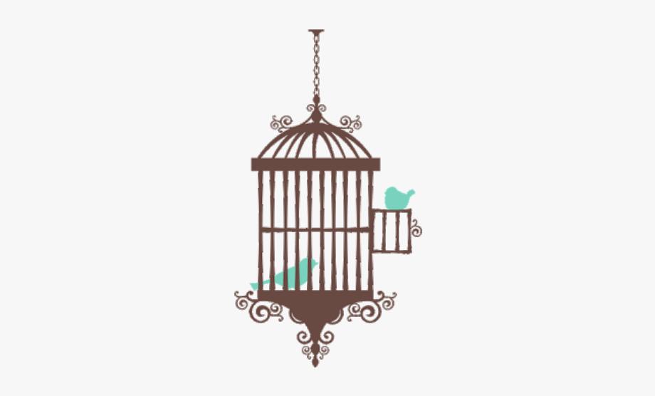 Birdcage Sticker.